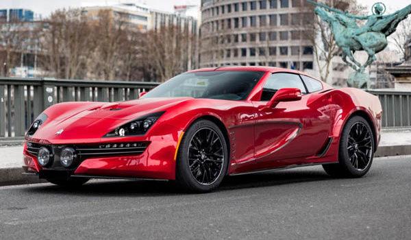 Corvette с мощностью 1000 лошадиных сил