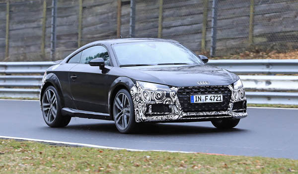 Audi TT на выставке